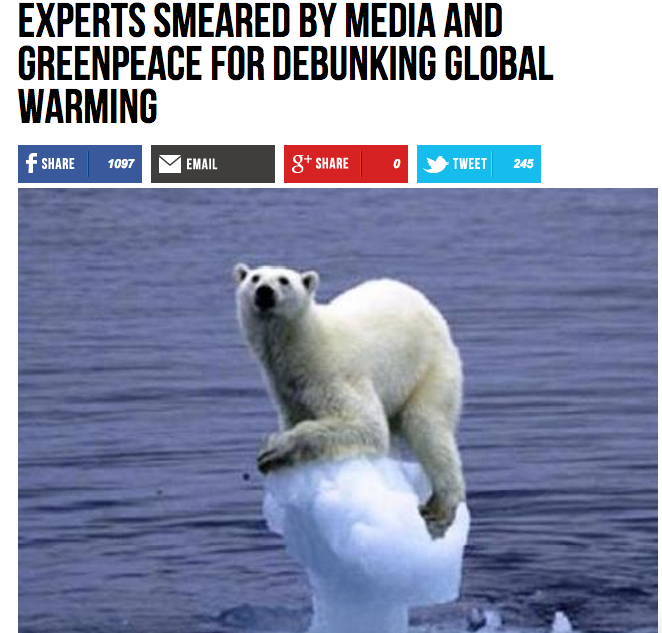 Good Scientific articles for global warming?